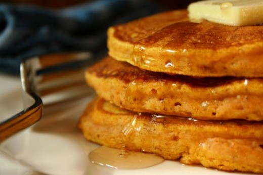 Does your family love pancakes?  Try this pumpkin pancake recipe.
