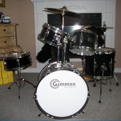 Douglas's Gammon Junior Drum Set