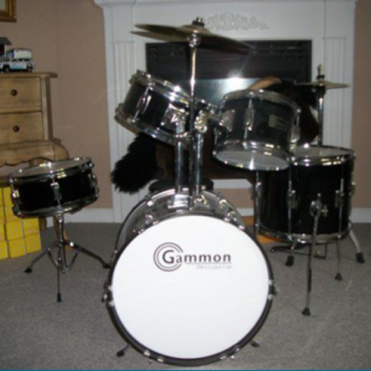 Douglas's Gammon Junior Drum Set