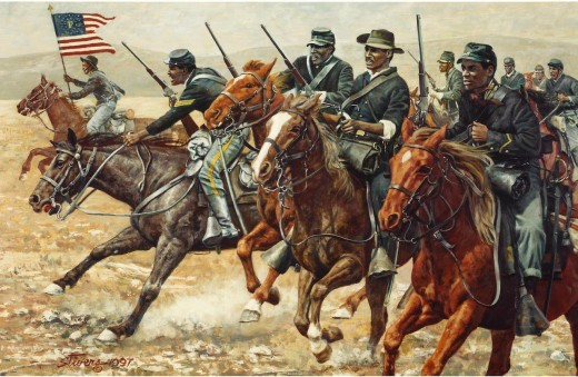 Buffalo Soldiers by Don Stivers
