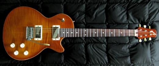 The Tom Anderson Bulldog guitar