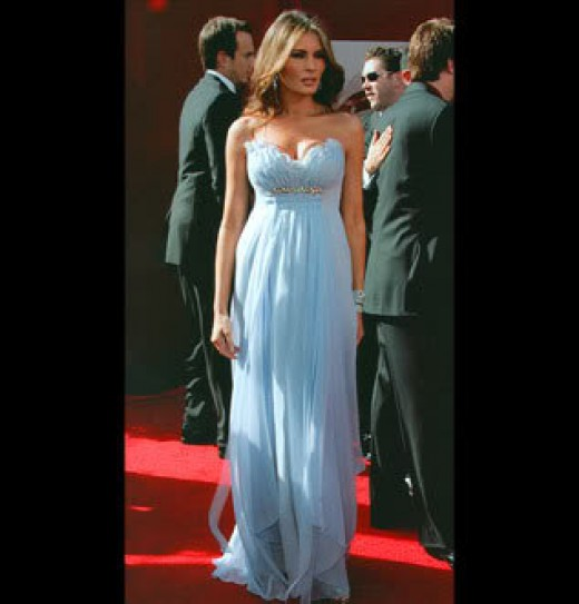 Melania Trump First Lady to be.