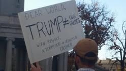 Peaceful Anti-Trump Protesting in Denver