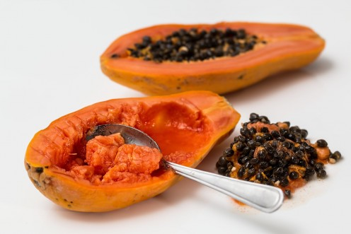 Papaya has been used in treating acne since a long period of time.
