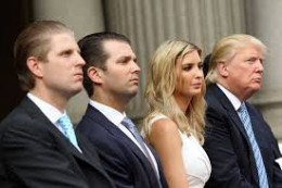 Eric, Donald Jr., Ivanka, are the most likely to carry on the Trump name in US politics.