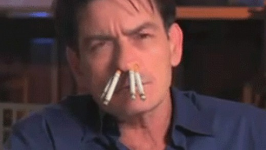 Fat Freddy has a tabacco habit too.