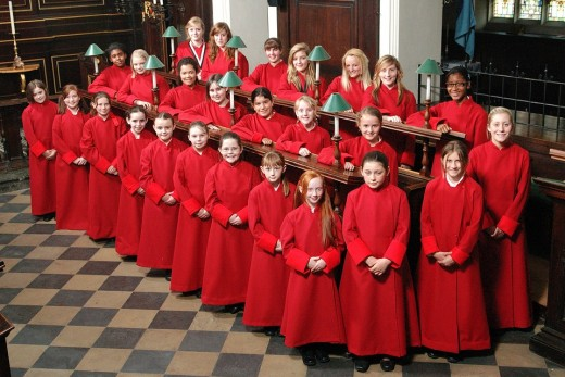 All saints girls choir  North Hampton England sing hymns for worship. My question: Is singing a gift or an ability?