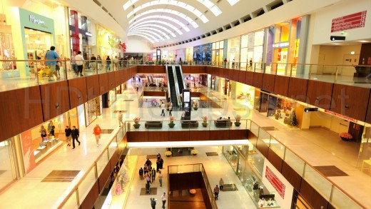 Luxurious Shopping Mall
