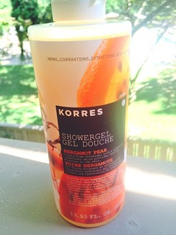 Therapy in a bottle: Review of Korres Showergel