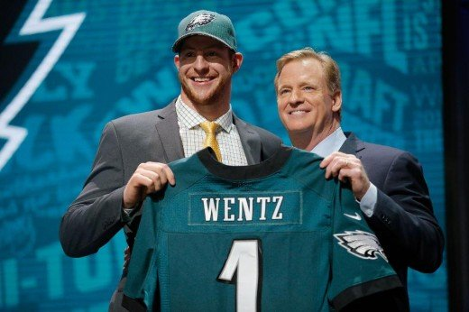 "Did the Eagles finally get their ""Russell Wilson"" in drafting QB Carson Wentz?"