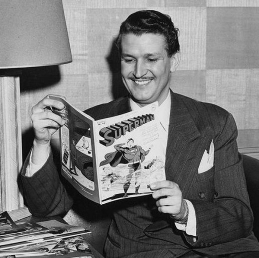 Bud Collyer - The voice of Superman for decades.