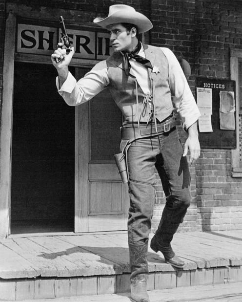 "Clint Walker as ""Knucks Malone,"" a boxer in my upgraded plot"