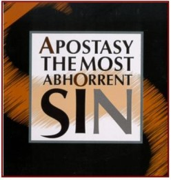 Apostasy the Struggle