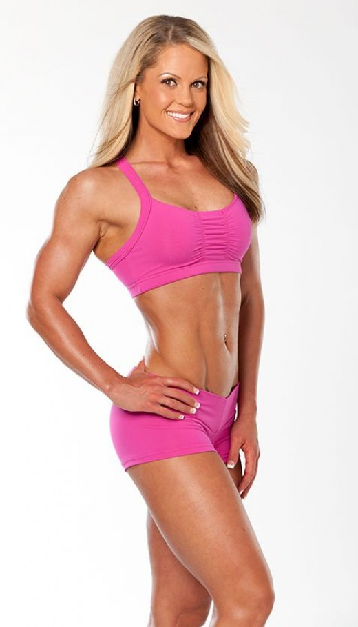 IFBB Figure and Fitness Competitor - Nicole Wilkins
