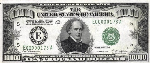 Demonetized US Currency