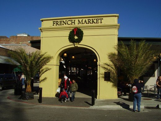 French Market Entrance