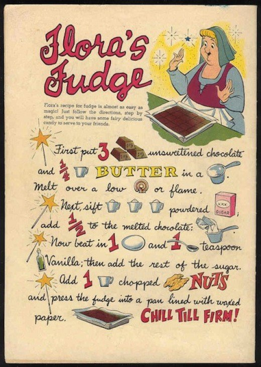 Disney Characters in the Kitchen:  Revisiting A Childhood Recipe