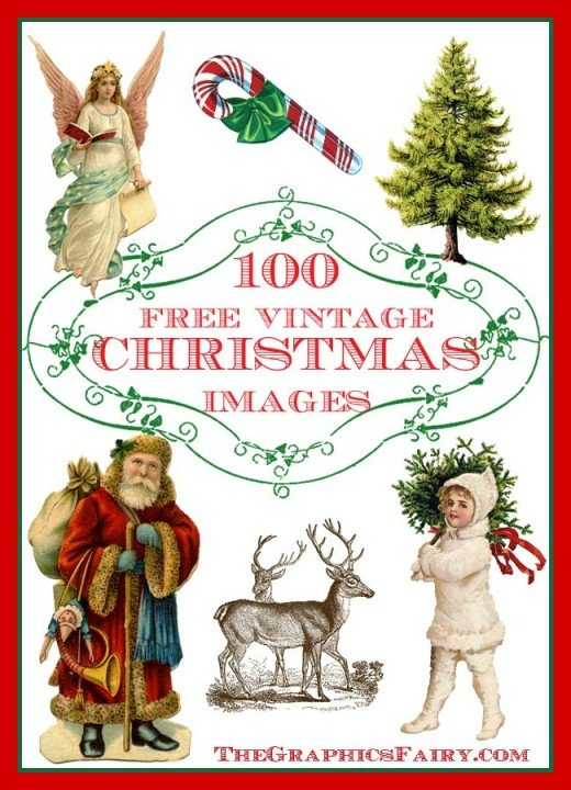 From ornaments and signs, to pillows and cards – vintage images can make your projects that much more spectacular.