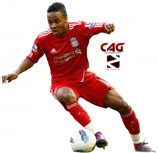 Footballer Raheem Sterling