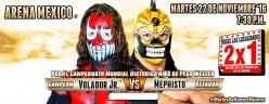 CMLL Tuesday Preview: Volador-Mephisto