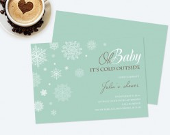 Pro Designer; Baby Shower Invitations