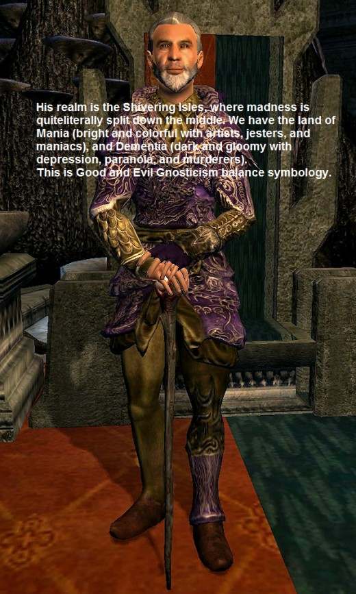 Sheogorath, Daedric Prince of Madness