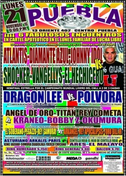 CMLL Puebla: Polvora-Lee Rules!