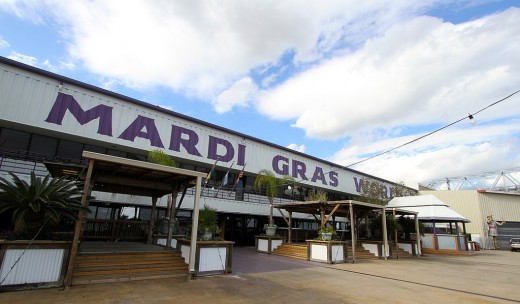 Mardi Gras World viewed from outside