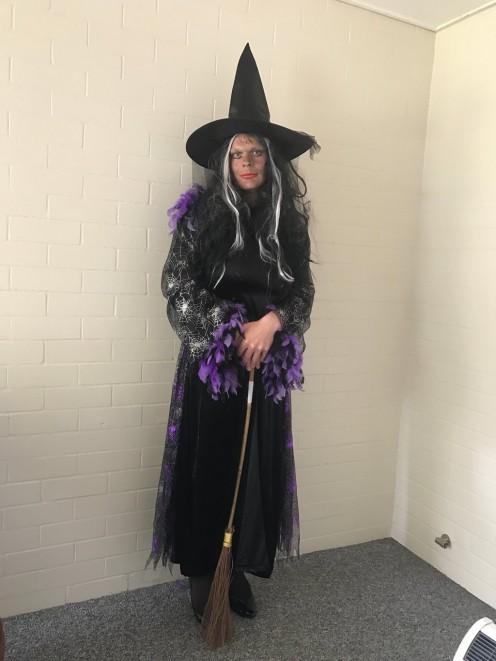 Get a broomstick to complete your witch look