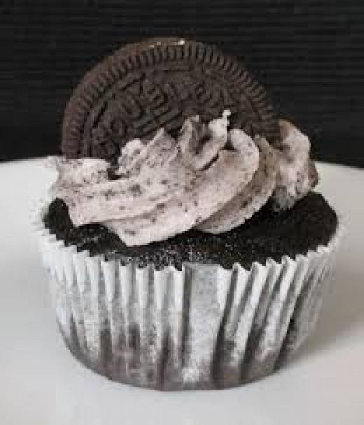 Oreo Cupcakes With Oreo Buttercream