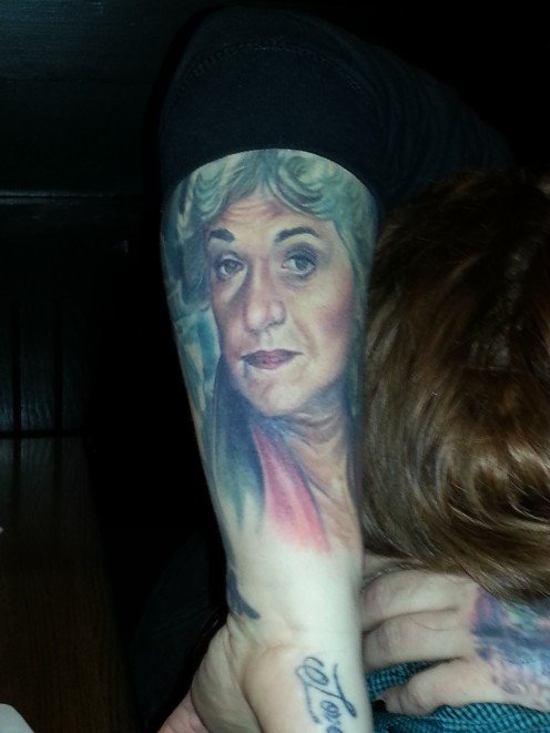 I don't mean to imply that a tattoo of Bea Arthur isn't a fine gift - it just isn't for everyone.