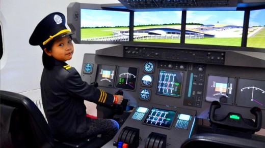 Future pilot?  It's amazing what children remember later on in life.