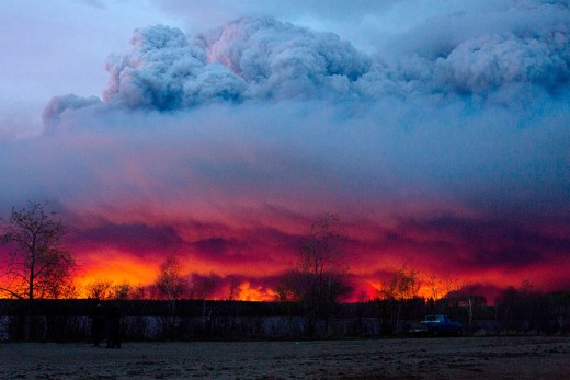 Wildfire in Canada