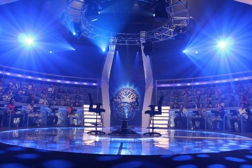 "TV Studio of ""Who Wants to be a Millionaire"" in El Salvador."