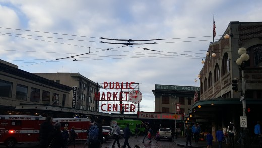 Pike Place Market; Seattle, WA