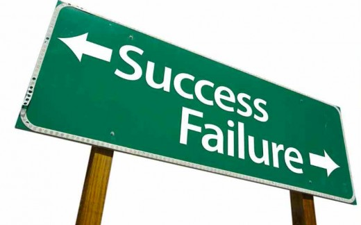 Opt for success over failure