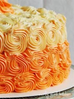 Tasty Orange Cream Cake Recipes