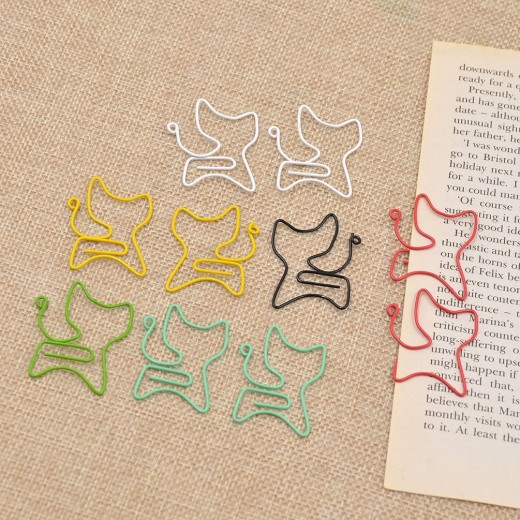 Smile while you work with these whimsical paper clips