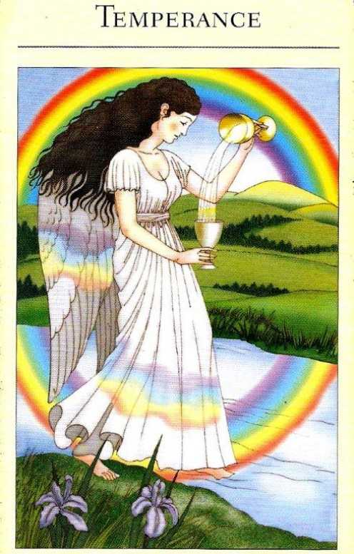 The Tarot card of Temperance