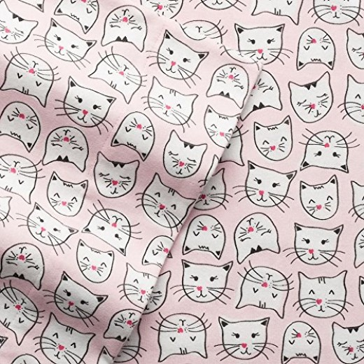 Twin, Full, King, or Queen Cat Sheets