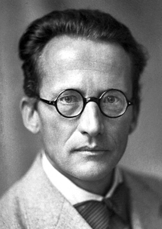 Erwin Schrödinger pictured in 1933, the year he was awarded a Nobel prize for his work on QM.