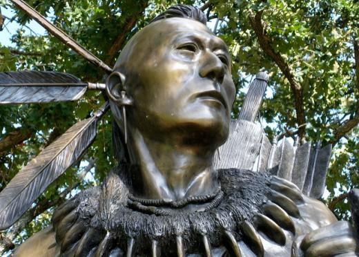 Chickasaw warrior
