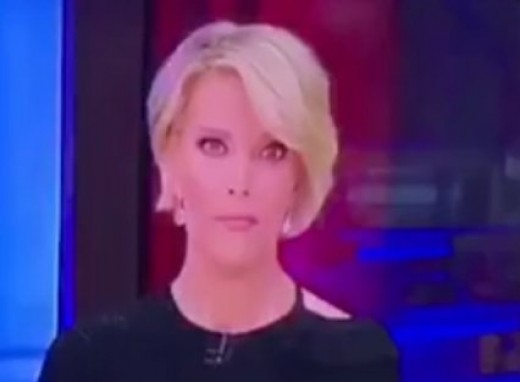 Megan Kelly's look on election night properly personifies her feelings, as a path opens up for a Donald Trump victory.