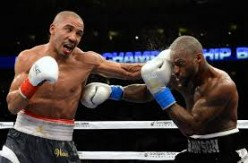 Andre Ward defended the super middleweight championship by knocking out Chad Dawson.