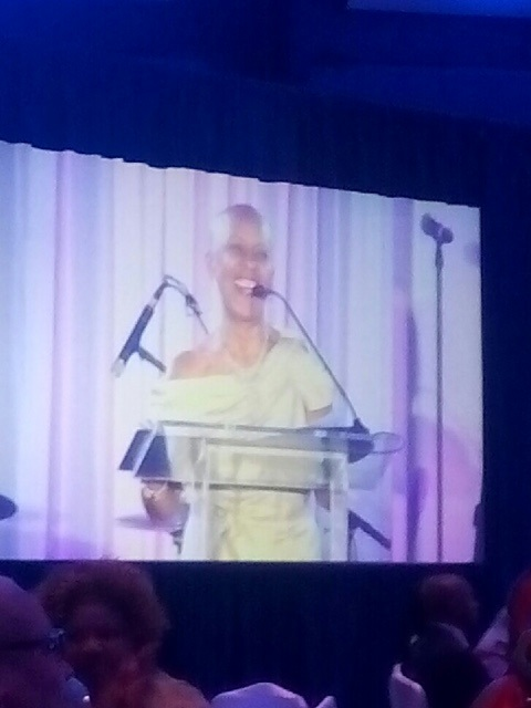 Rev. Sandy Rodgers giivng the Welcome and Prayer for SisterLove's 2020. The Leading Women Society 2015 Gala.