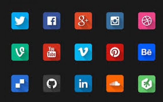Just some of the social media platforms.