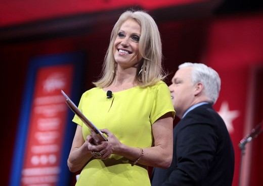 kellyanne conway .  hubpages.com/@simplehappylife
