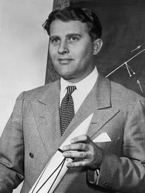 Werner von Braun  noted space engineer  and architect