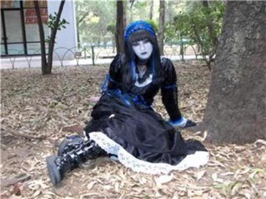 Typical Goth female