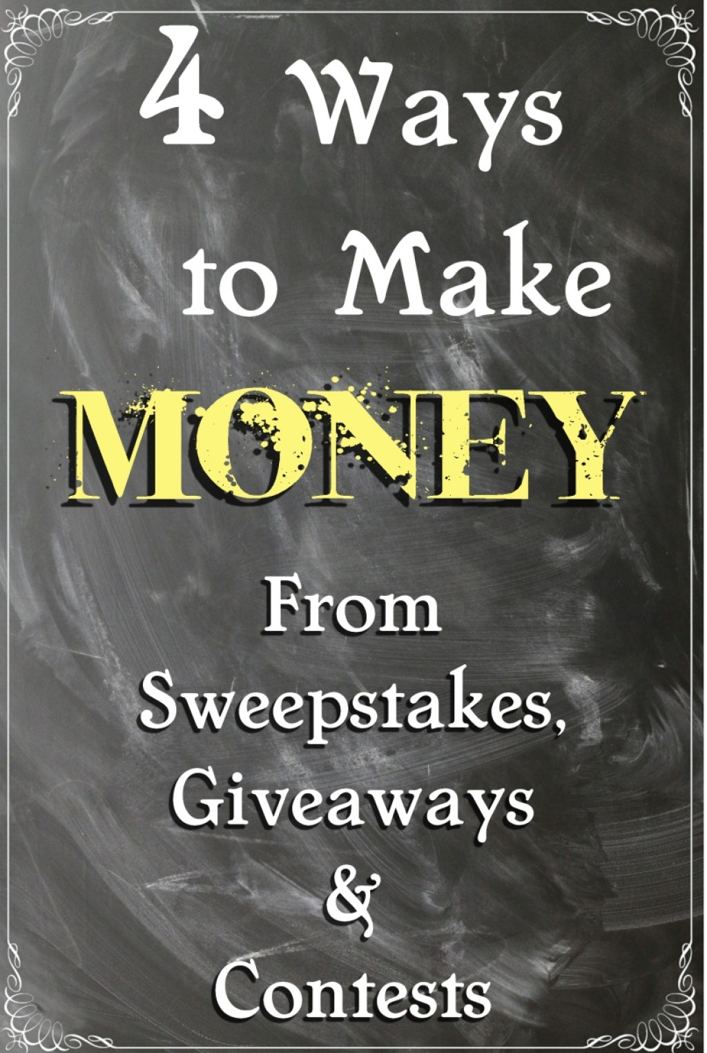 4 Ways to Make Money From Sweepstakes, Giveaways and Contests ...